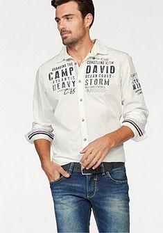 CAMP DAVID Košeľa s dlhými rukávmi