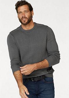 Arizona kereknyakú bordázott pulóver