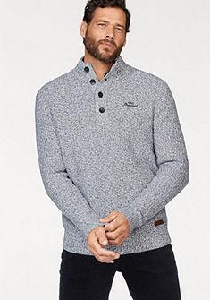 Man's World pulóver logó mintával