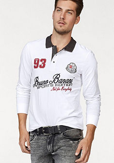 Bruno Banani Tričko polo s dlouhými rukávy