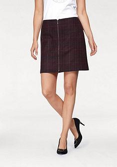 CLAIRE WOMAN Kockovaná sukňa