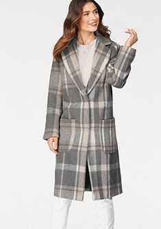 Laura Scott Dlhý kabát, kockovaný vzor