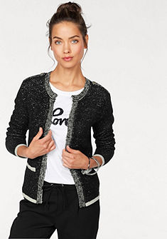 AJC Pletený sveter, kontrastné detaily v uzlíčkovom vzhľade