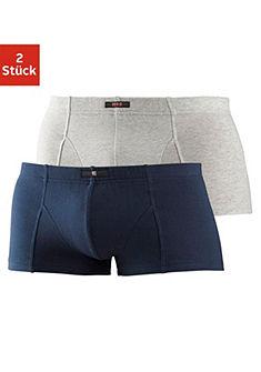 H.I.S Krátké boxerky (2 ks) z měkké elastické bavlny