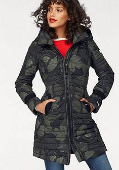 khujo Prešívaná bunda, detailmi v koženom vzhľade »Daily«