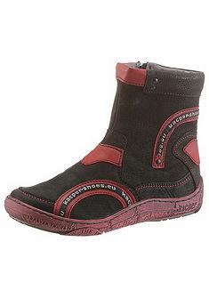 KACPER Zimní boty s kontrastním prvkem