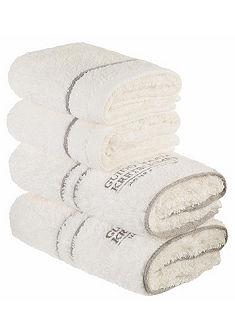 Souprava ručníků, GMK Home & Living »Jale« s vyšívaným logem