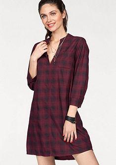 Q/S designed by Kockované šaty