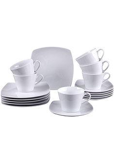 Villeroy & Boch Kávová súprava, porcelán, 18-dielna »Simply Fresh«
