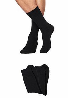 Sympatico plüss zokni (2 pár) kényelmes szegéllyel