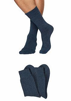 Sympatico Vlněné ponožky (2 páry) pohodlná vnitřní část