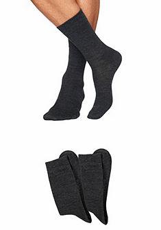Sympatico Základné vlněné ponožky (2 páry) jemná vnitřní část