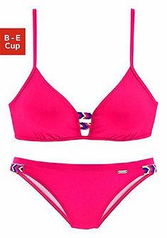 Bench merevítős bikini színes fonatokkal