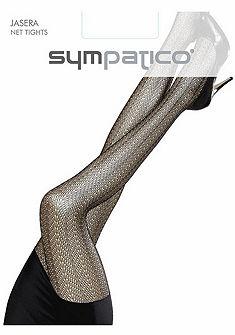 Sympatico Feine Sieťované pančuchové nohavice s mäkkým pásom