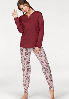 CALIDA pizsama »Natalie« kockás, virágmintával