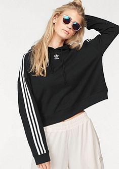 adidas Originals kapucnis hosszú ujjú póló »CROPPED HOODIE«