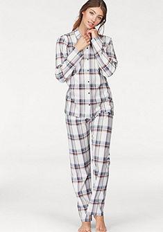 CALIDA hosszú pizsama klasszikus szabással