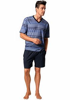 s.Oliver RED LABEL Bodywear Pyžama dlhá s farebnými pásikmi