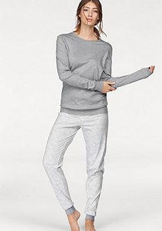 CALIDA Pyžamo v jemném designu sněhové vločky