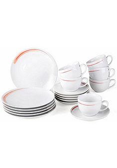 VIVO VILLEROY & BOCH GROUP Kávová súprava, porcelán, 18-dielna »FRESH PEACH«