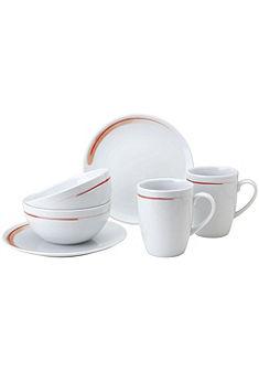 VIVO VILLEROY & BOCH GROUP Raňajková súprava, porcelán, 6-dielna »FRESH PEACH«