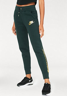 Nike Nohavice na jógu »W NSW RALLY PANT REG METALLIC«