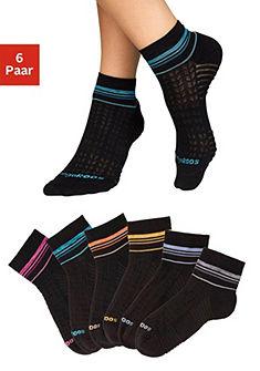 Kangaroos Krátké ponožky, pruhovaný design (6 párů)