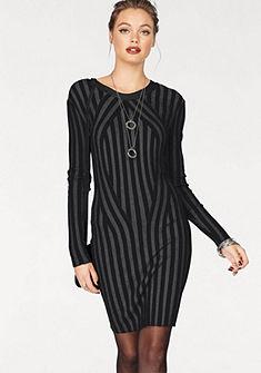 Vero Moda kötött ruha csíkos mintával »AUDREY«