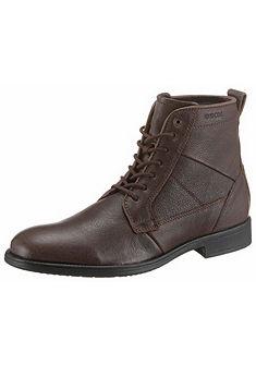 Geox Šnurovacie topánky vysoké