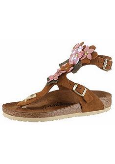 Birkenstock Sandále »zdobené kvetmi«