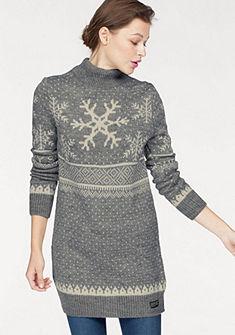Superdry Pletené šaty »NORDIC SKI SNOWFLAK«