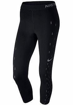 Nike Sportovní legíny »WOMEN NIKE PRO CAPRI LNR RAINDROP GRX«