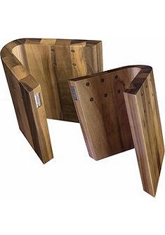 arte legno magnetický blok na nože, vlašský orech »CURVA«