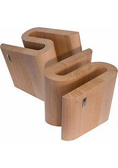 arte legno Magnetický blok na nože, bukové drevo »S«