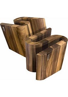 arte legno Magnetický blok na nože, vlašský orech »S«