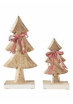 heine home Dekorace-vánoční strom, 2-dílný