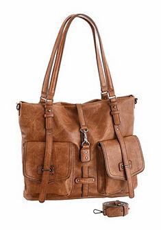 Tamaris műbőr shopper táska praktikus zsebekkel »BERNADETTE«