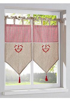 heine home Krátká záclona, 2 ks