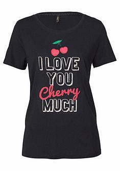 Only póló cseresznye mintával »MELON«