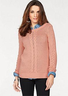 Vero Moda kötött pulóver fonott mintával »GILROY«
