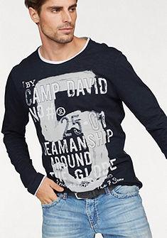 CAMP DAVID Tričko s dlhými rukávmi