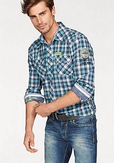 CAMP DAVID Kostkovaná košile