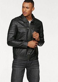 Bruno Banani Kožená bunda v motorkářském stylu