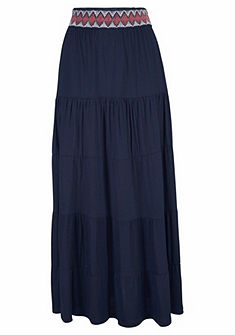 s.Oliver RED LABEL Beachwear Dlouhá letní sukně