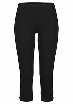 LASCANA Capri nadrág nyomott mintával és gumis derékkal