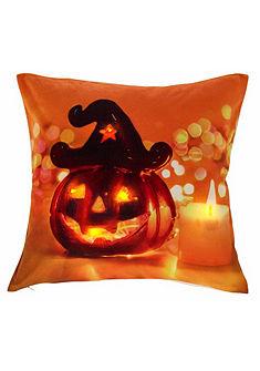 LED-es párnahuzat, my home, »Pumpkin« (1 db)