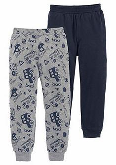 KIDSWORLD Teplákové kalhoty (po 2 ks)
