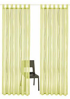 Záclona, my home »Dimona« s poutky (2 ks)