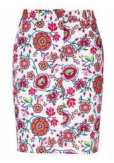 ASHLEY BROOKE by Heine Tvarovacia sukňa s kvetinovým dizajnom