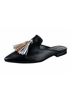 Heine sabot cipő bojttal
